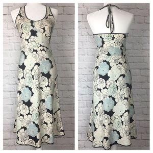 J. Crew | Silk Halter Floral Dress